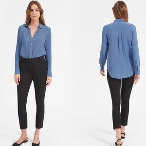 Everlane The Clean Silk Relaxed Shirt Medium